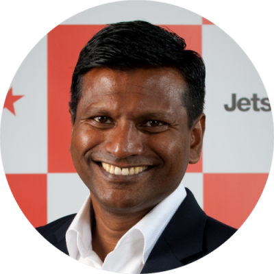 Barathan Pasupathi, Jetstar Asia Chief Executive Officer