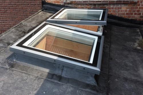velux ne propose pas que des solutions pour toits en pente. Black Bedroom Furniture Sets. Home Design Ideas