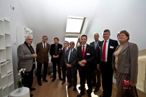 Inauguration de la maison air et lumi re for Maison saine air et lumiere
