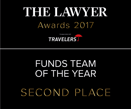 Howard Kennedy named as having one of the best funds teams in the UK at The Lawyer Awards 2017