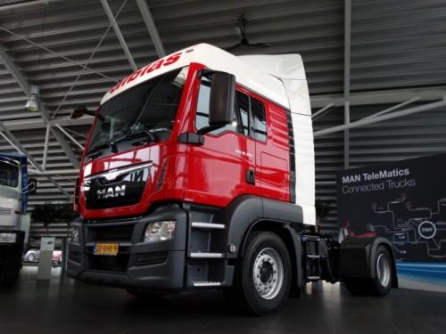 Twintig MAN-trucks voor Alblas Transport