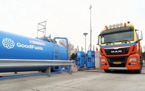 De Jong Zuurmond lanceert met GoodFuels en MAN eerste private blendingstation voor Renewable Diesel (HVO) in Nederland