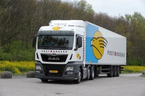 Post-Kogeko plaatst order voor 42 MAN trucks