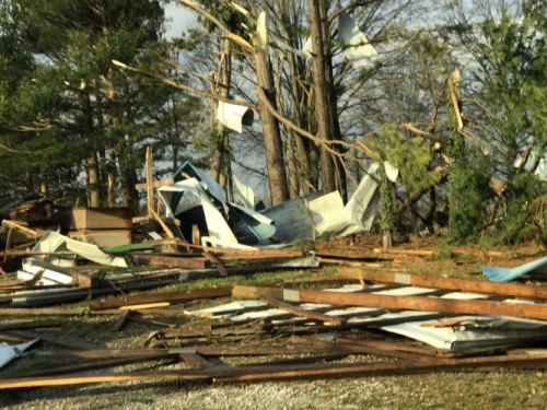 Tornado rips through Perryville, Mo. area