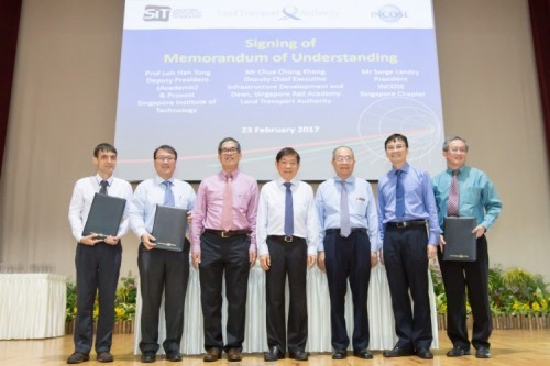 MOU signing between SIT, LTA and INCOSE