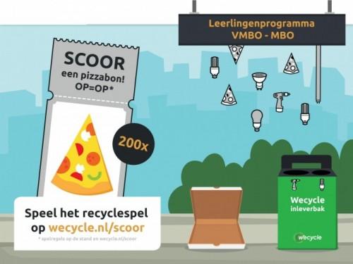 Wecycle maakt recyclespel voor bouwprofessionals van de toekomst