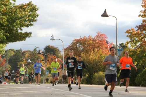 Nearly 5,000 Runners Took On The Hershey Half Marathon