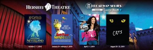 Hershey Theatre Announces 2018-2019 Broadway Series