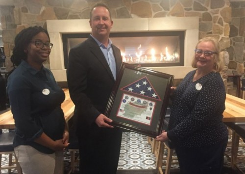 Hershey Lodge Employees Go Above and Beyond for the Family of an Armed Forces Member