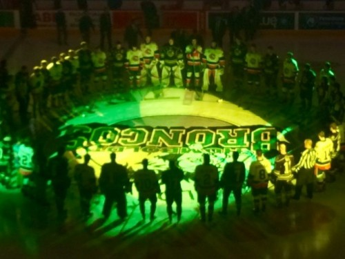 Hershey Bears Hockey Honor Humboldt Strong