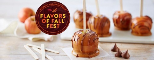 Flavors of Fall Spice Up Hershey's Chocolate World Menu