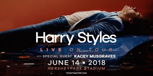 Harry Styles Live On Tour Coming to Hersheypark Stadium