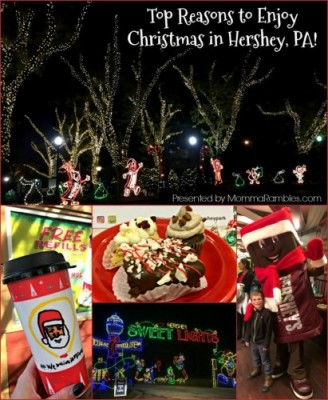 Top Reasons to Enjoy Christmas in Hershey, PA!