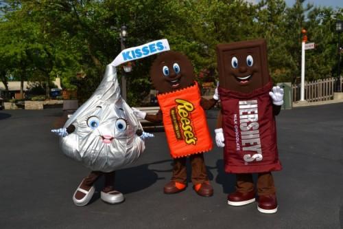 Meet the Hershey's Characters!