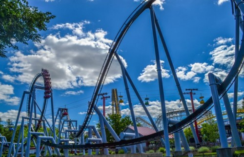 We're Celebrating  National Roller Coaster Day!