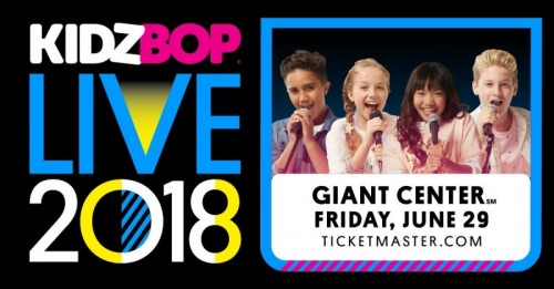 KIDZ BOP Live 2018 Coming to Hershey