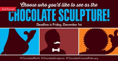 Who's Your Pick for This Year's Chocolate Sculpture?