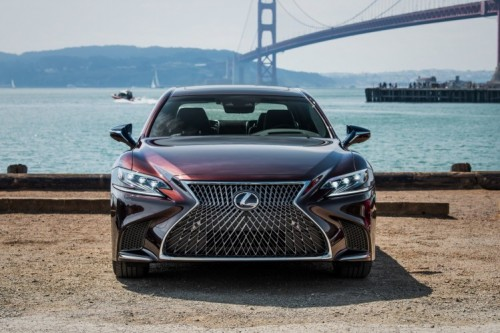 WITH THE ALL NEW 2018 LS LEXUS REIMAGINES GLOBAL FLAGSHIP SEDAN