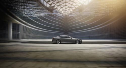 Lexus LS 500h press kit