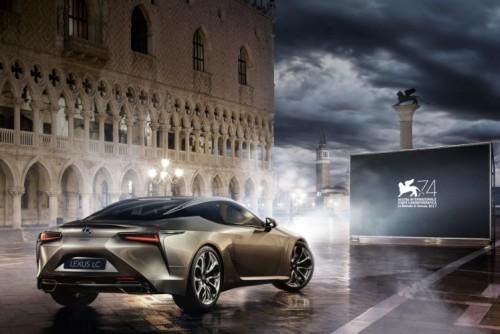Lexus main sponsor of the 74th Venice International Film Festival