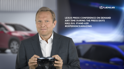 LEXUS PIONEERS A RADICAL NEW APPROACH TO THE PRESS CONFERENCE AT THE 2017 FRANKFURT MOTOR SHOW
