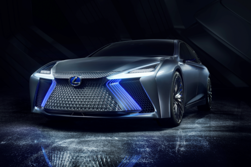 LEXUS PREMIERES LS CONCEPT FLAGSHIP WITH EYE TOWARD APPLICATION OF AUTOMATED DRIVING TECHNOLOGIES IN 2020