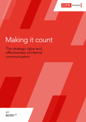'Leaders now value internal comms' – CIPR Inside report