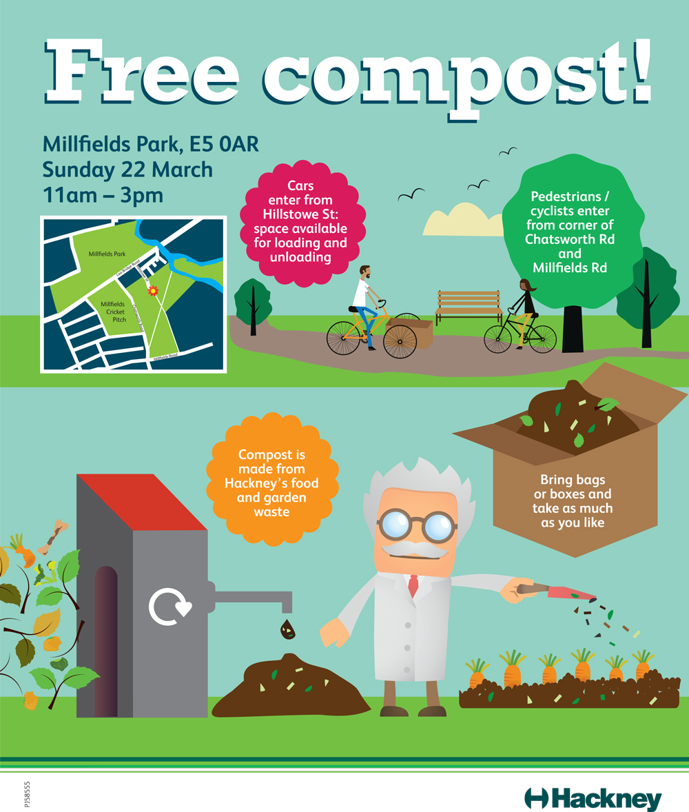 Advert for compost giveaway