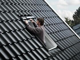 nouvelle fen tre velux integra solar. Black Bedroom Furniture Sets. Home Design Ideas