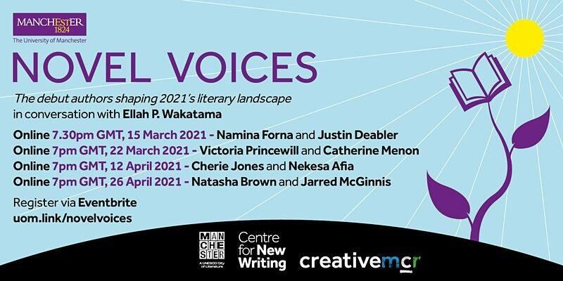 Novel voices decorative poster
