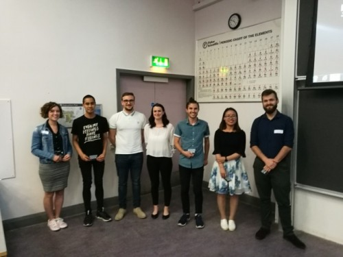 Chemistry PGR conference poster presentation winners
