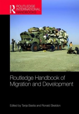 The front cover of the handbook of migration and development
