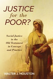 'Justice for the poor?' book cover showing a woman collecting wheat