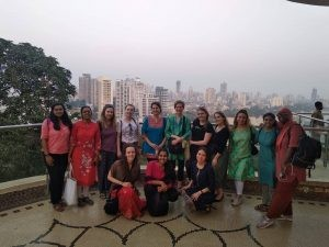 HCRI students on Mumbai trip.