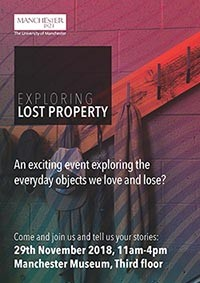 Exploring Lost Property Event Poster