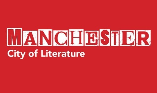 Manchester City of Literature text logo