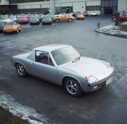 Porsche Museum viert 50 jaar 914 16