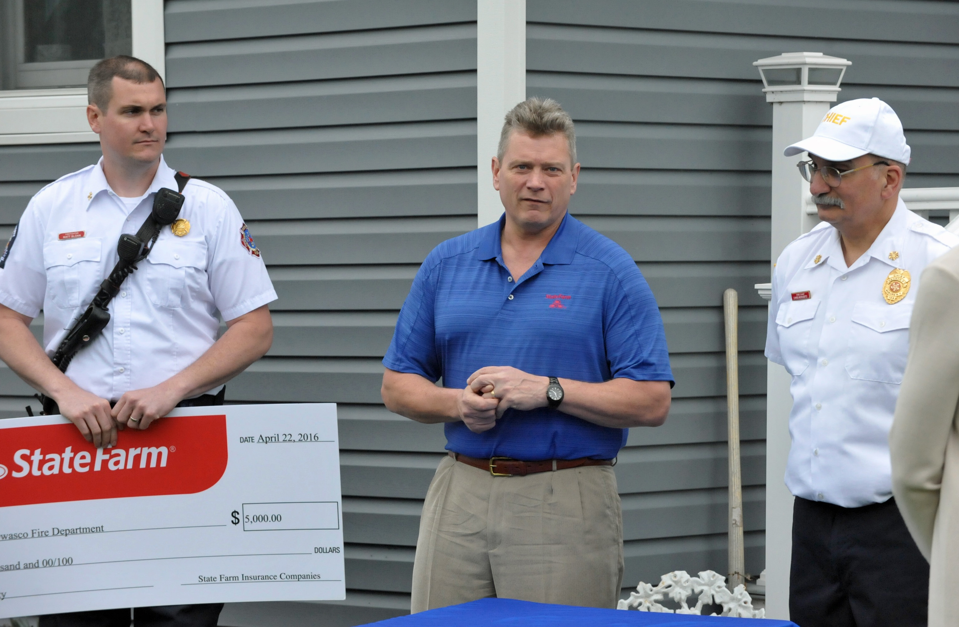 State Farm Giving Giant Check