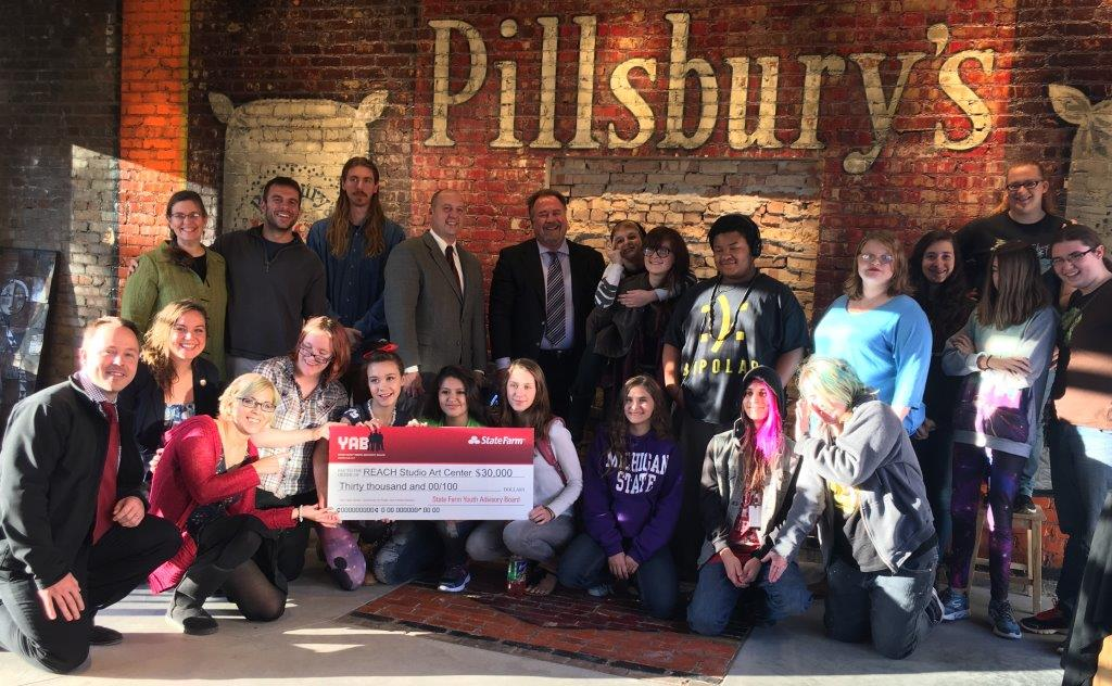 Group who received the YAB check