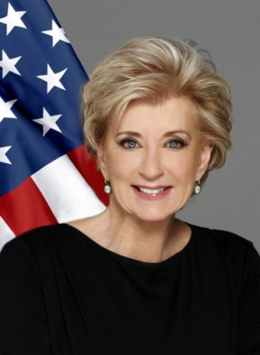 Head shot of SBA Administrator Linda McMahon.