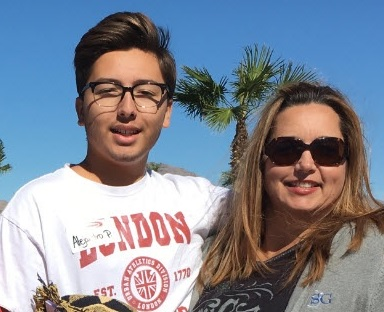 "Student Alejandro Ponce, and his mother Donna, attended the Driver's Edge training. ""Parents can't teach this kind of defensive driving,"" said Donna. ""It's invaluable and it's free."""