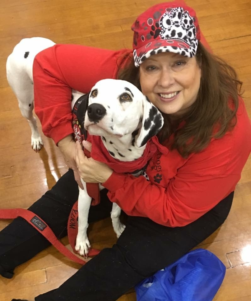 Meet Dayna Hilton and Molly the Dalmatian. These are the faces and the talents behind the Keep Kids Fire Safe Foundation.