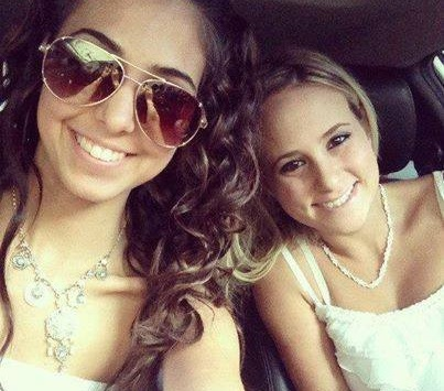 Marisa Catronio and Kaitlyn Ferrante.