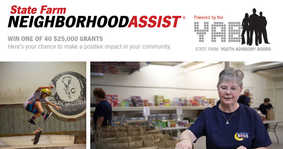 Neighborhood assist win one of 40 $25000 grants