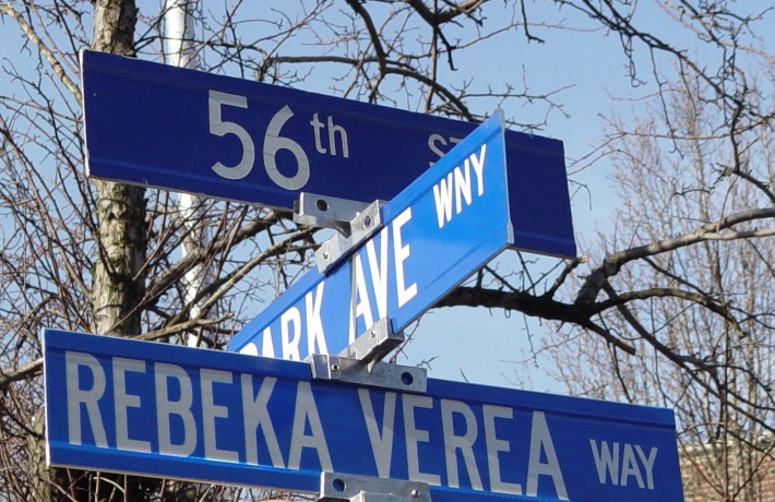 Rebeka Verea Way is a reminder to drive safe, to prevent distracted driving and create a safer community.