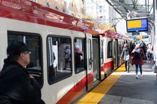 Plans are underway to expand Calgary's C-Train system with the Green Line. The first phase is scheduled for completion in 2024.