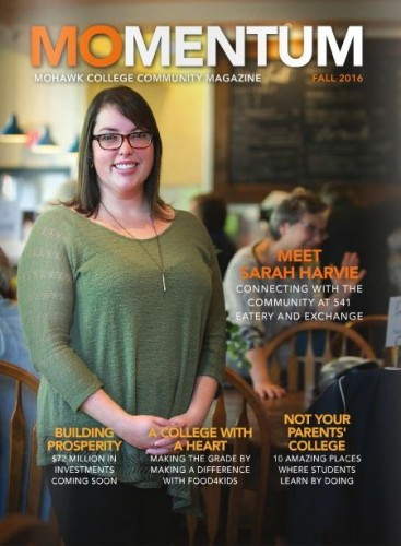 Check out Momentum, Mohawk's communnity magazine.