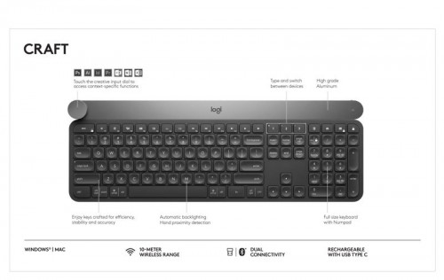 2afd88be328 Logitech Reinvents the Keyboard Experience with Logitech CRAFT