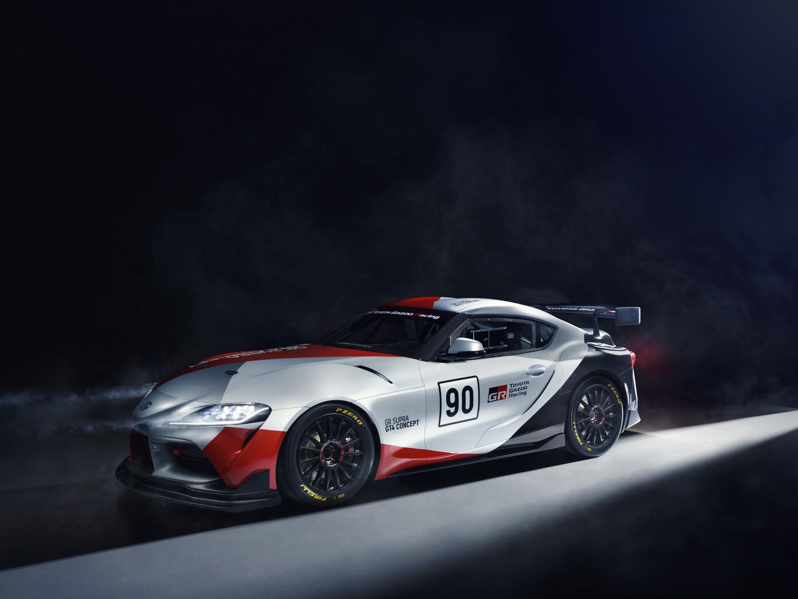 2019 Toyota GR Supra GT4 Concept
