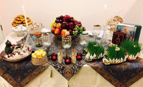 Celebrating The Iranian New Year